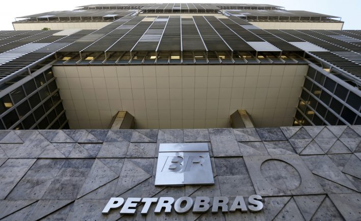 A view is seen of the Petrobras headquarters in Rio de Janeiro December 16, 2014. Concern over the corruption scandal is driving shares and bonds of Petrobras to multi-year lows. Preferred shares of the Rio de Janeiro-based company fell 9.1 percent on Monday, touching their lowest level since 2005. REUTERS/Sergio Moraes (BRAZIL - Tags: ENERGY CRIME LAW)