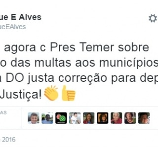 Apeado do governo por causa da Lava Jato, Henrique Alves continua despachando com Temer