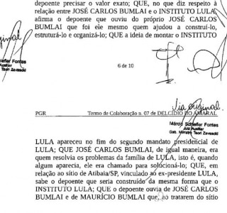 Delator aponta Bumlai como 'implementador' do Instituto Lula e Esteves como 'mantenedor'