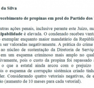 Os crimes e as penas de Lula no caso do sítio