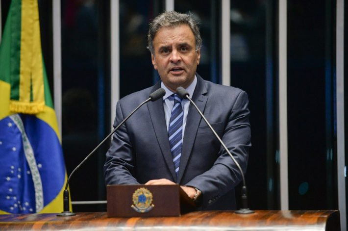 Aécio Neves. Foto: Jefferson Rudy/Agência Senado