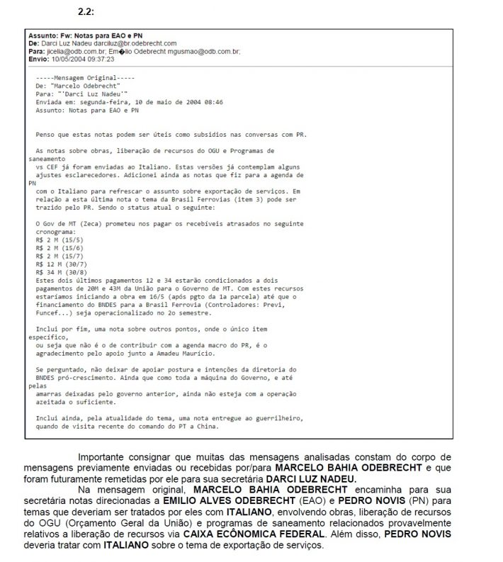email odeb italiano cef