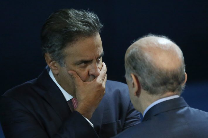 Aécio Neves. Foto: Dida Sampaio/Estadão